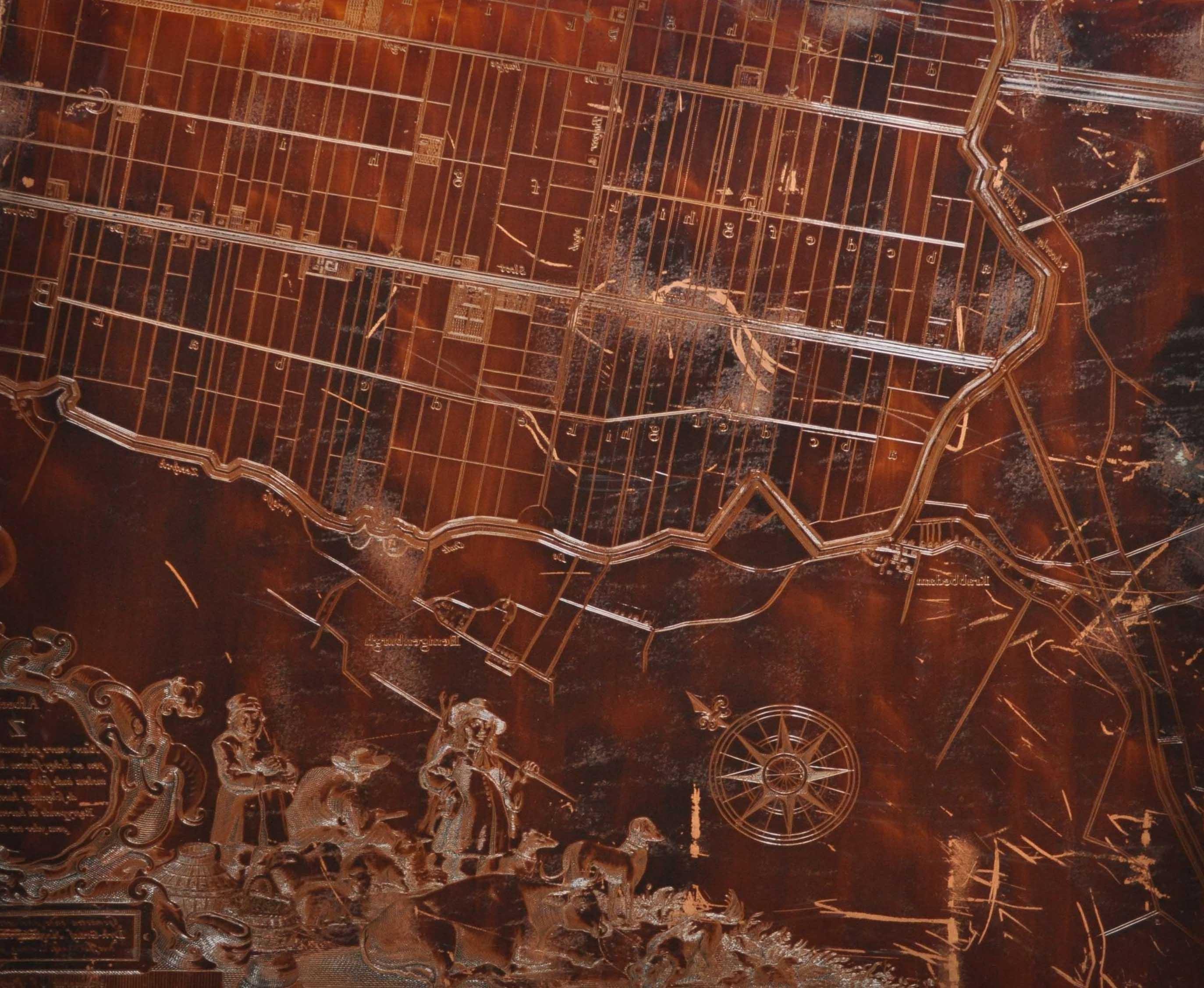Kopergravure kaart Zoutman