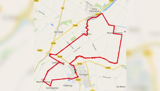 SchagenOnWheels_map2015