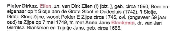 Genealogie Dirk Ellen_Arnold